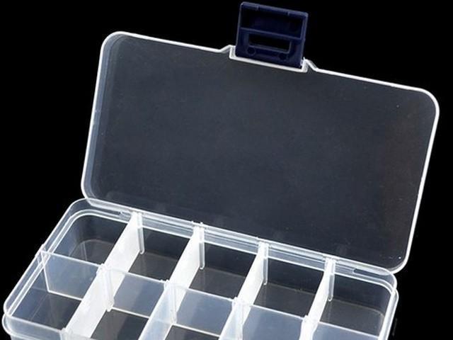 Sortimente tároló doboz (max. 10 rekesz)