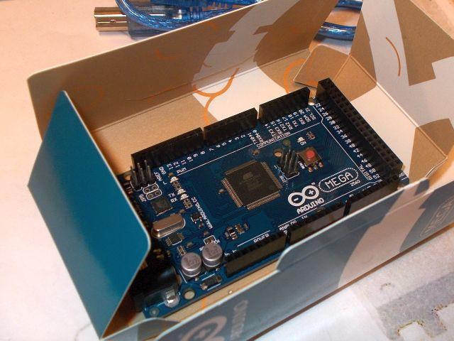 Mega 2560 (Mega R3) (dobozos)