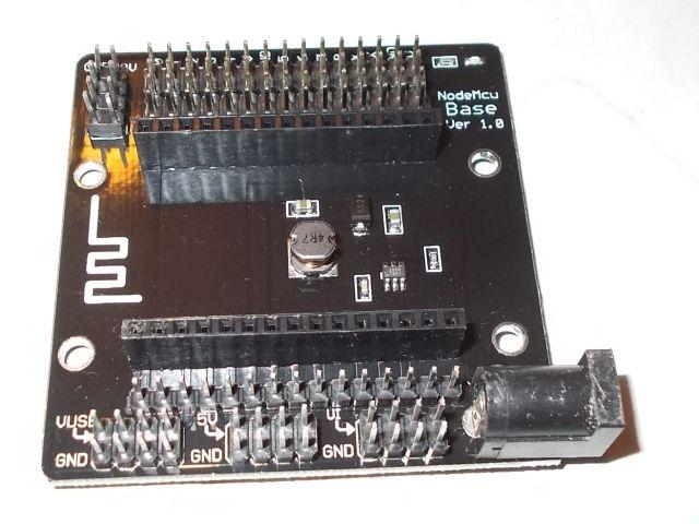 NodeMCU baseboard (Széles NodeMCU-hoz)