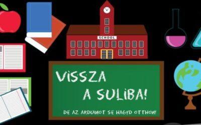 Vissza a suliba – Oktatókészletek