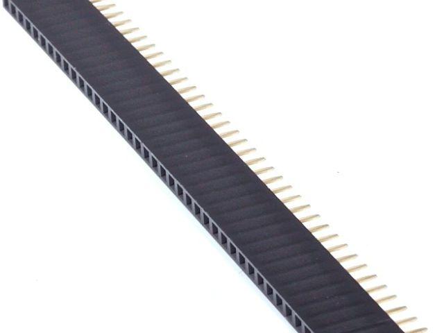 1x4 hüvelysor (2.54mm)