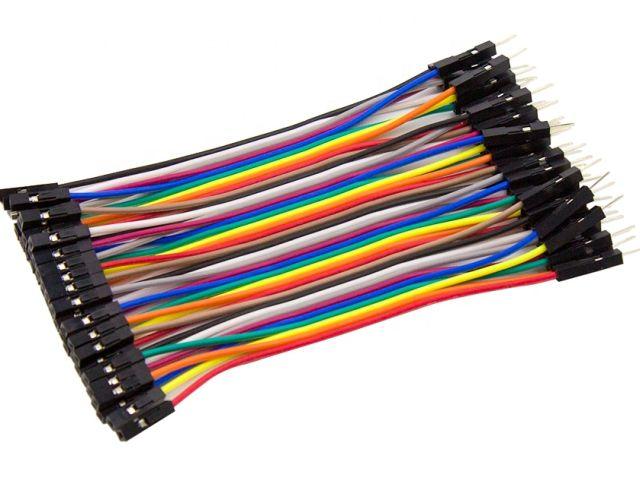 Kábel (apa-anya; 40 ér; 10cm)