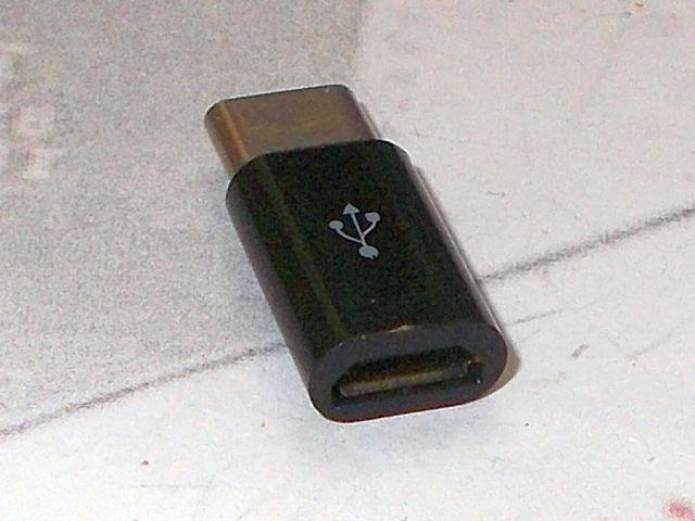 MicroUSB - USB-C átalakító adapter