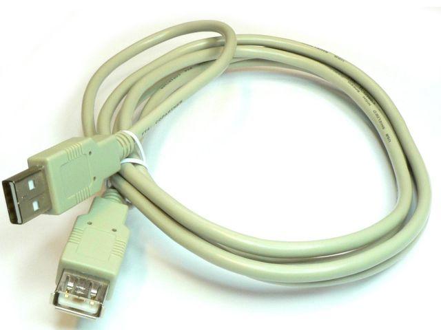 USB-A - USB-A toldó kábel (1.8m)