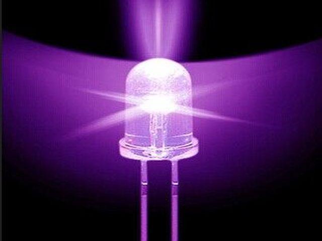 LED - Kék/UV csomag (10x, 5mm)