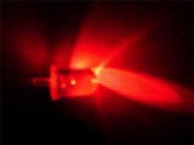 LED - Piros fényű, víztiszta tokban csomag (20x, 5mm)