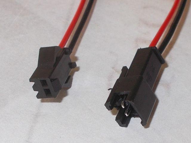 LED-szalag tápcsatlakozó
