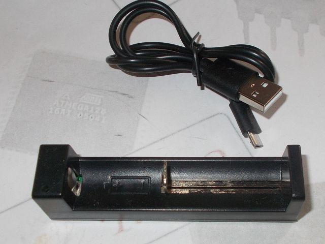 LiPo töltő + kábel (uUSB, 18650,16340,14500