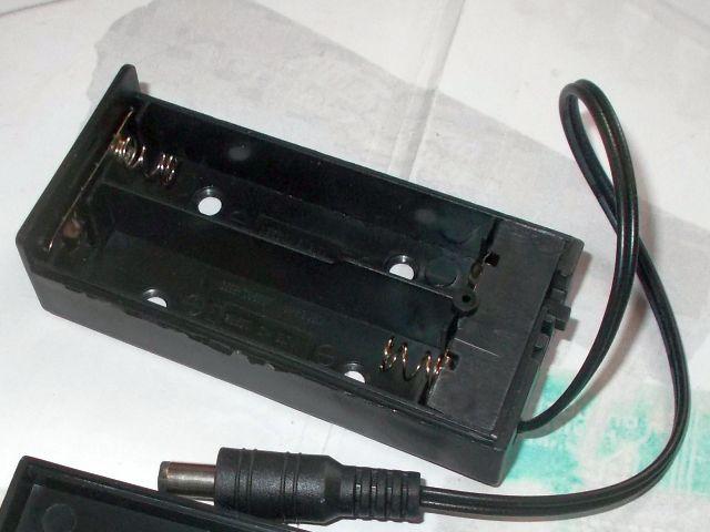 2x 18650 LiPo akkutartó (Arduino tápdugóval, kapcsolóval)