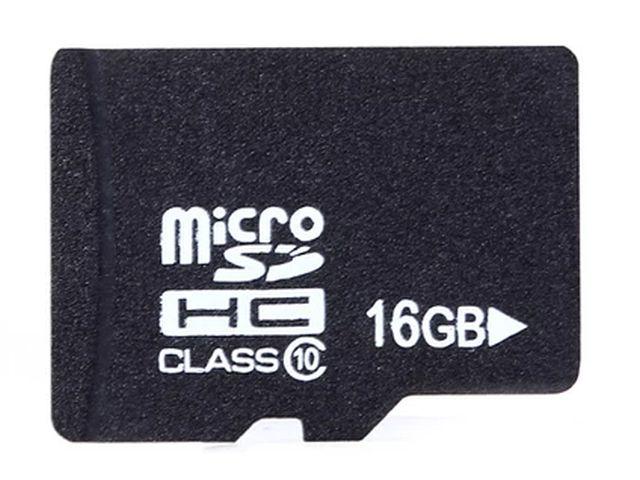 uSD/microSD kártya (16GB)