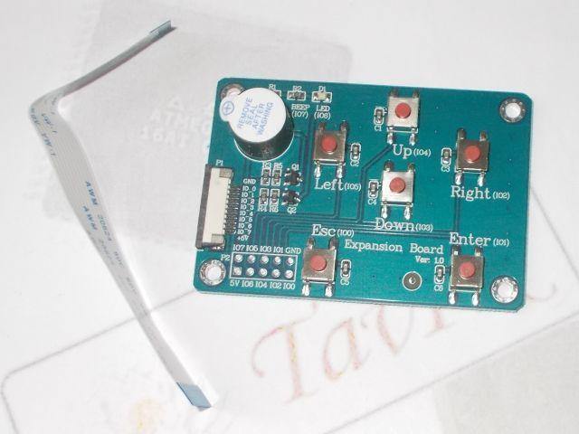 Nextion Expansion Board (Enhanced kijelzőhöz, 6x gomb, csipogó)
