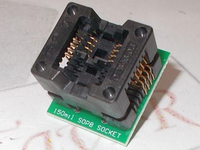 DIP8-SOIC8 konverter (150mil)