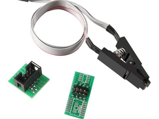 SOIC-8 teszt csipesz / test clip
