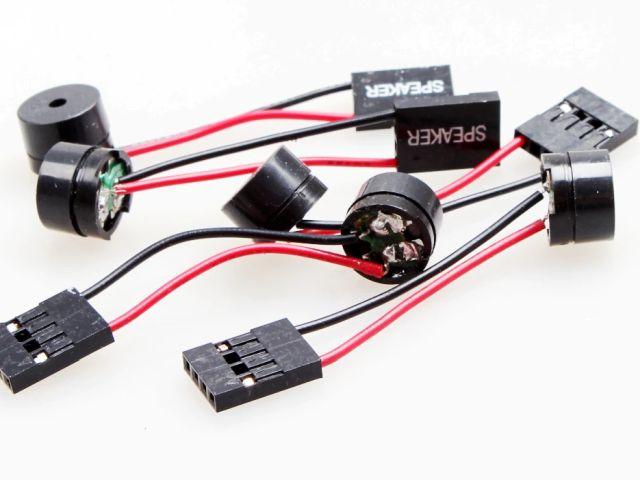 Mini hangszóró (16R/csipogó) szerelt csatlakozóval