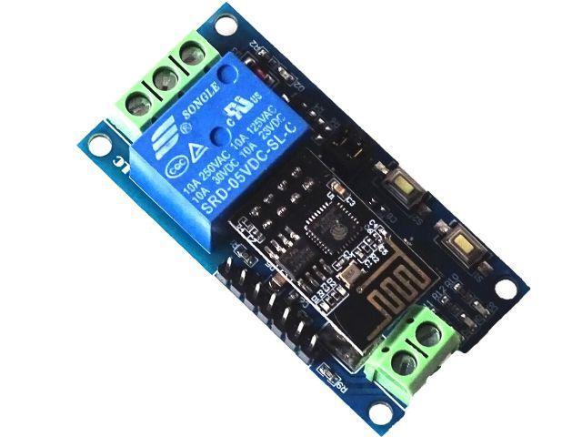 IoT - 1 csatornás relémodul (1xRelay/ESP-01-APP)