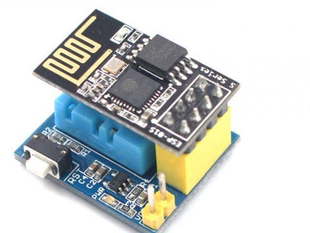 IoT - Időjárás állomás (DHT-11)