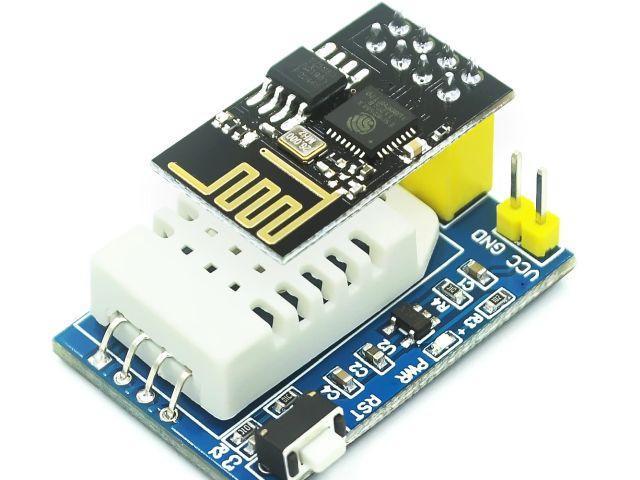 IoT - Időjárás állomás (DHT-22/ESP-01)