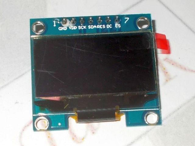 """1.3"""" OLED (128*64;SPI; fehér)"""