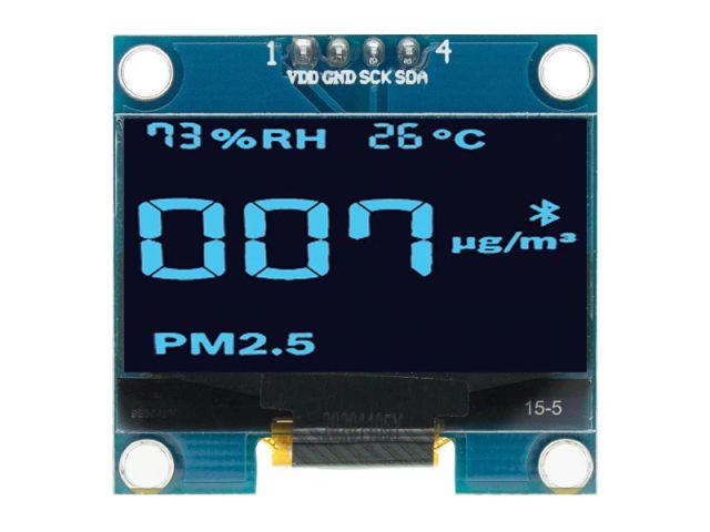 """1.3"""" OLED (128*64, IIC, SSD1306, kék)"""