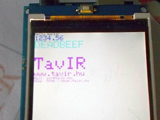 "3.2"" TFT LCD (480*320)/SD - Mega shield"