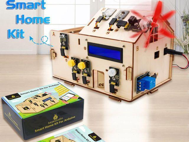 Smart Home / OkosHáz projekt (Keyes)