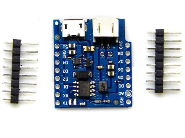ESP8266/D1 LiPo töltő shield (D1 - LiPo Battery shield - 1.2.0)