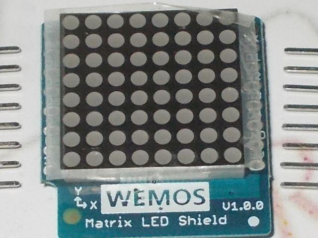 ESP8266/D1 modul matrixshield (D1 - matrixshield)
