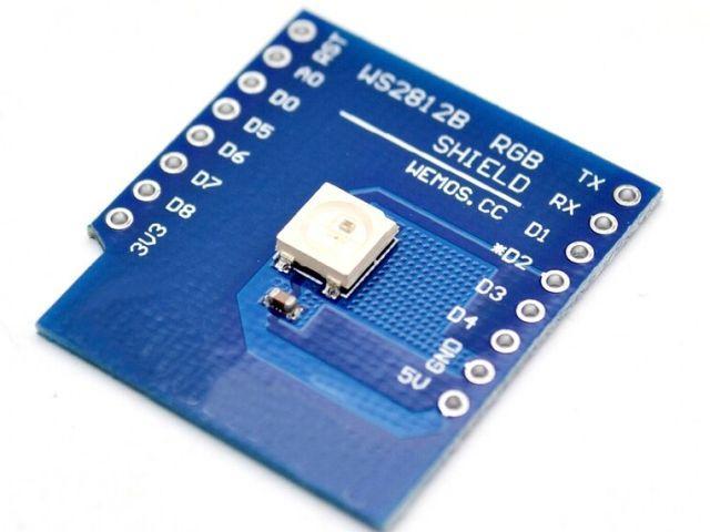 ESP8266/D1 WS2812B RGB shield (D1 - RGB shield)