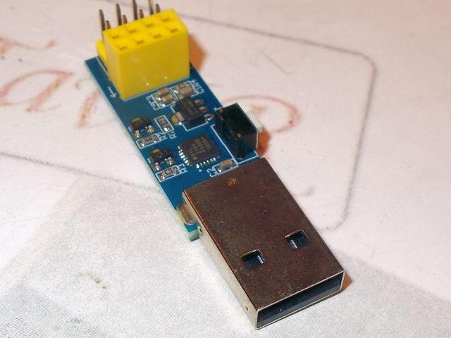 USB-Soros ESP-01/ESP/ESP32 illesztő (programozó, ESP LINK)