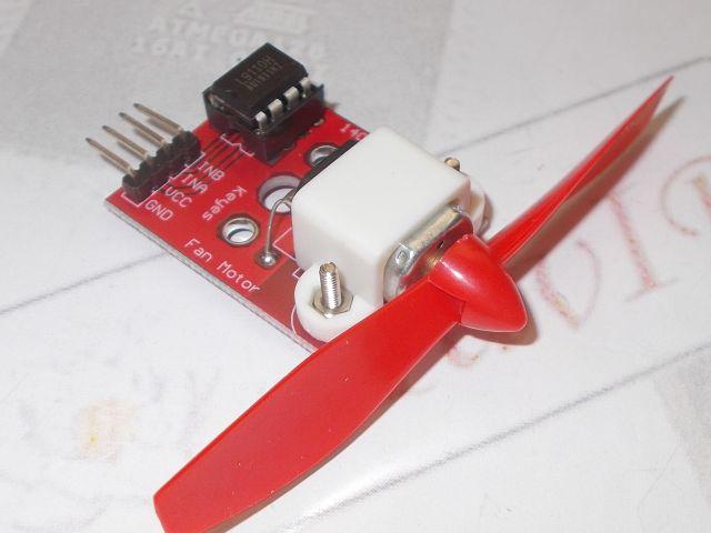 Ventillátor modul (Fan; L9110) [3V3...12V]