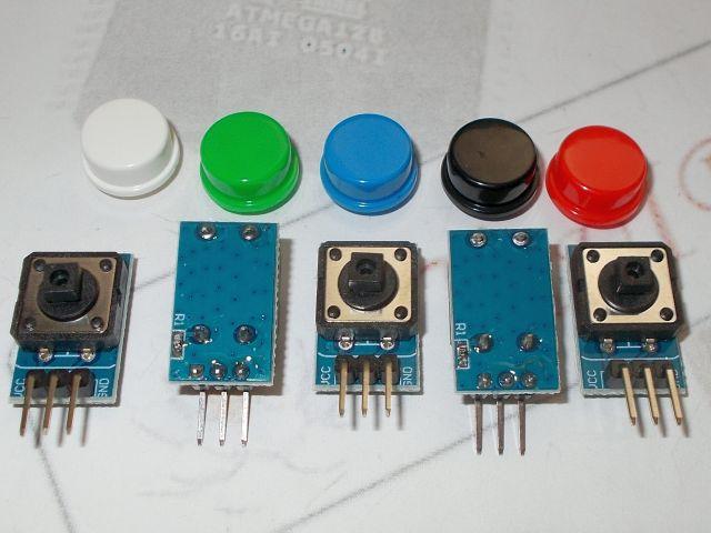 Nyomógomb modul (12x12) - 5db/pack