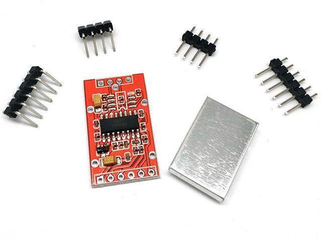 HX711 precíziós 24bites ADC modul (mérlegcellához) [Árnyékolt]