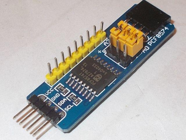 8 csatornás I/O (PCF8574 modul)