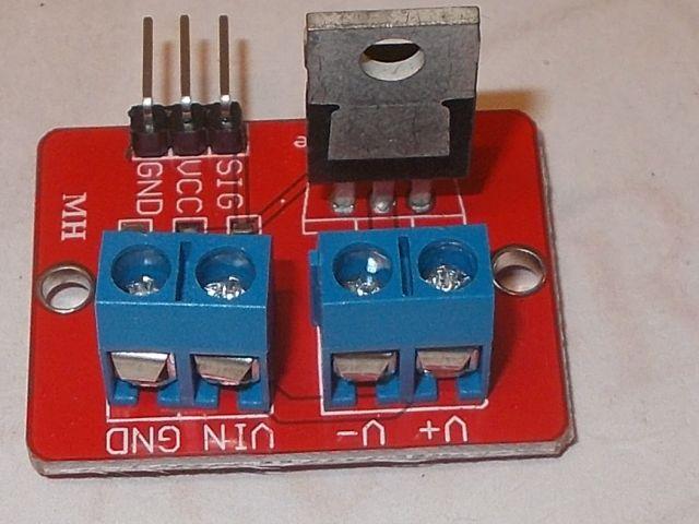 FET kapcsolómodul (MOSFET)