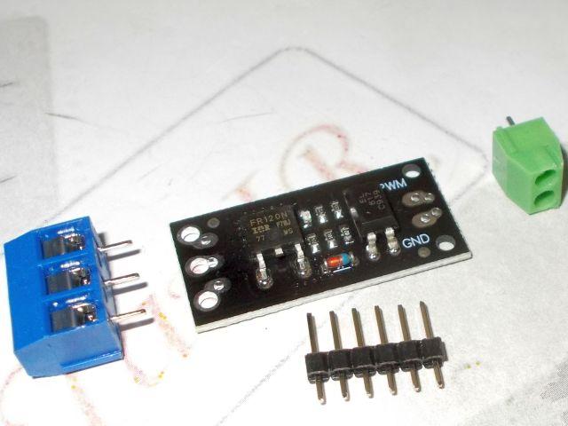Optocsatolt FET kapcsolómodul (MOSFET, PWM, 100V)