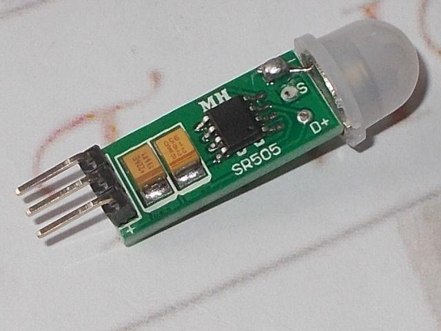 PIR-szenzor mini (SR-505; mozgásérzékelő)