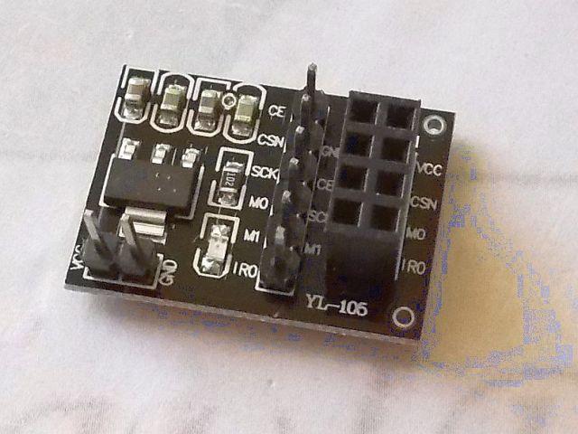 nRF24L01+ adapter/board