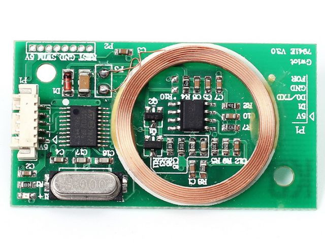 125kHz RFID olvasó (Gwiot 7941E; 8cm)