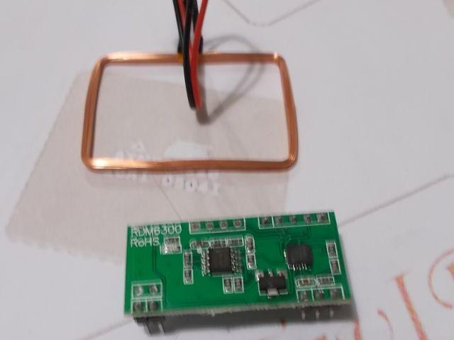 125kHz RFID olvasó (RDM6300)