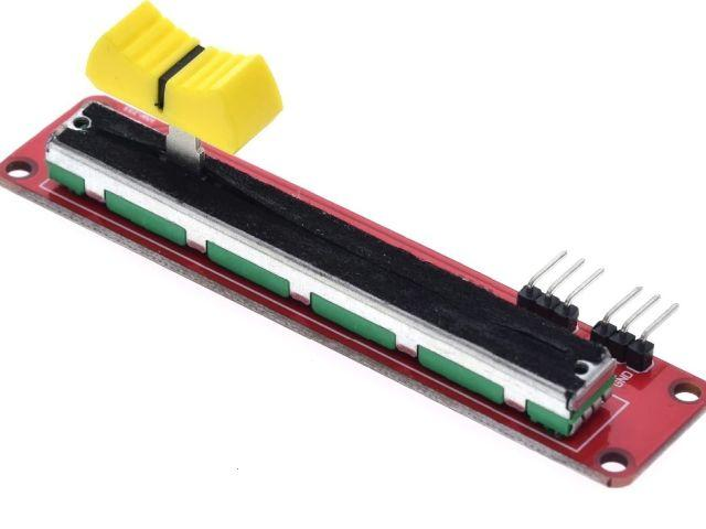Tolópotméter modul (10k, sztereo)