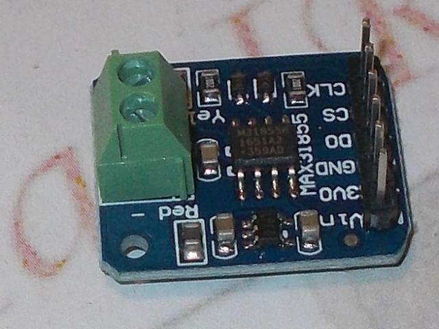 MAX31855 precíziós hőmérő-modul (-200...+1350C)