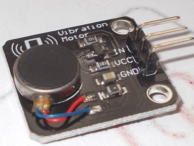 Vibramotor/vibrációs modul