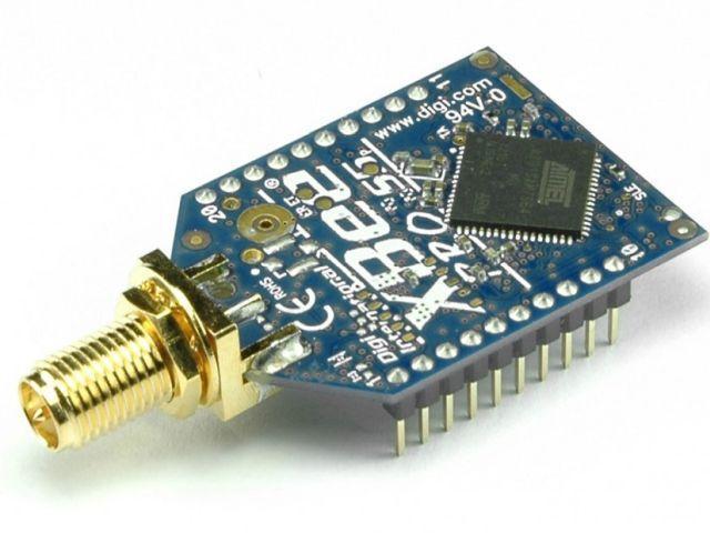 XBEE Pro S2 (868 MHz) modul (XBP08-DPSIT-024) [kifutó]