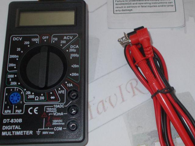 Digitális multiméter (DT 830B)