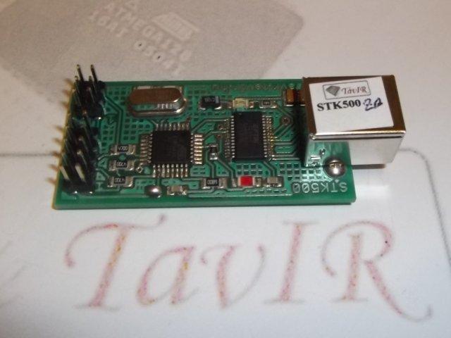 TavIRisp STK500 USB programozó