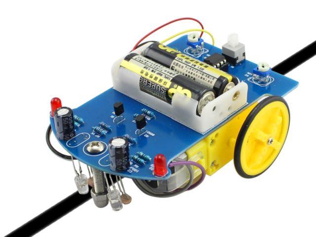 Vonalkövető robotautó (D1-2)