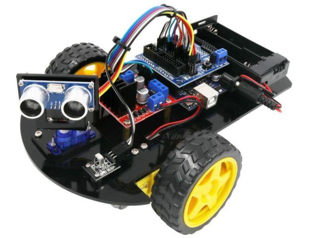 Robot építőkészlet (RobotCar)