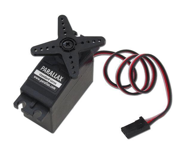 Normál servomotor (Parallax, standard servo)