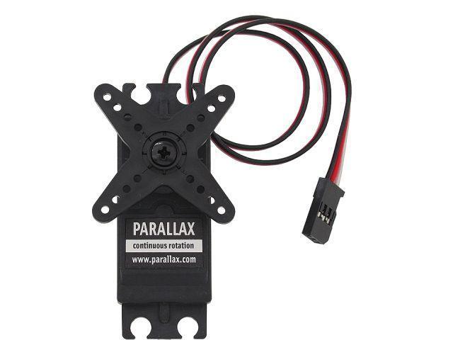 Normál servomotor (Parallax, körbeforgó servo)