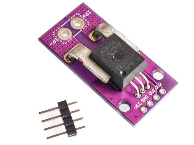 0-50A AC/DC precíziós árammérő szenzor